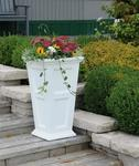 Mayne Fairfield Tall Patio Planter - White