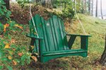 Uwharrie Pine Original Porch Swing