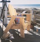 Uwharrie Pine Fanback Outdoor Chair