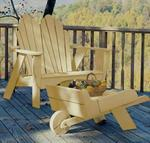 Uwharrie Pine Fanback Outdoor Two-Seater