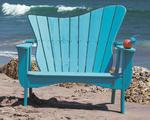 Uwharrie Pine Wave Outdoor Settee