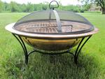 "6"" Deep 20"" Diameter Screen for 24"" Fire Pit"
