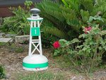 Ornamental Outdoor Nautical Decor Small Solar Buoy - 28""