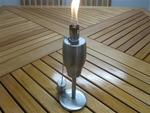 Stainless Steel Table Torch - Conical