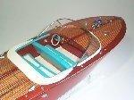 Aquarama Riva Tritone 1954 Model Ship