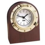 Weems and Plath Porthole Desk Clock