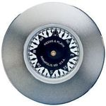 Weems and Plath Nickel Plated Compass Chart Weight
