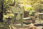 Uwharrie Pine Veranda Outdoor Settee Rocker
