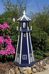 Outdoor Poly Nautical Lighthouse