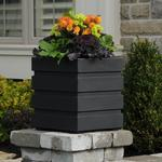 Mayne Freeport Patio Planter - Black