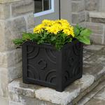 Mayne Savannah Patio Planter - Black