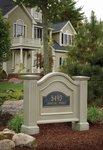Mayne Nantucket Address Sign - Clay
