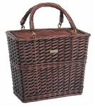 Picnic and Beyond Willow Picnic Cooler Wine Basket