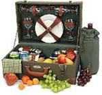 Picnic and Beyond Rendezvous Picnic Box for Four