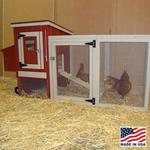Urban Backyard Mobile Chicken Coop Kit - Small