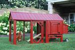 Atlanta Mobile Backyard Barn Chicken Coop