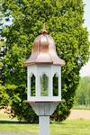 Sustainable Poly Lumber Large Bird Feeder with Copper Roof