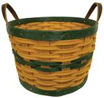 Hand Woven Recycled Plastic Apple Basket