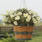 Hand Woven Recycled Plastic Hanging Planter Basket