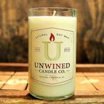 Repurposed Wine Bottle Soy Candles Unwined Candles - Oak & Amber