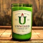 Unwined Soy Wax Wine Bottle Candle Teakwood Scent
