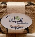 Fresh Goat Milk Soap Oatmeal and Honey