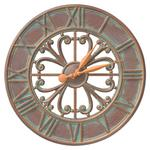 "Villanova 21"" Indoor Outdoor Wall Clock"
