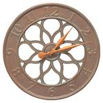 "Medallion 18"" Indoor Outdoor Wall Clock"