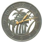 "Palm 18"" Indoor Outdoor Wall Clock"