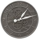 "Gear 16"" Indoor Outdoor Wall Clock"