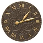 "Artisan 16"" Indoor Outdoor Wall Clock"
