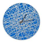 "Banded 16"" Indoor Outdoor Wall Clock"