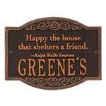 Emerson Quote Personalized Plaque