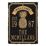 Antebellum Welcome Anniversary Personalized Plaque