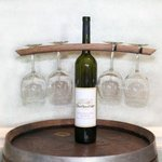 4-Glass Wine Caddy