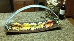 Basket Style Serving Tray/Decor