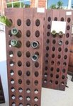 80-Bottle Champagne Riddling Rack