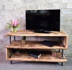 Modern Industrial TV Stand