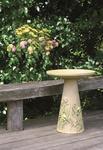 Eco Friendly Goldfinch Bird Bath Set