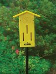 Eco Friendly Pole-Mounted Butterfly House