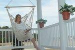 Pawleys Single Cotton Rope Porch Swing