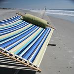 Large Quilted Fabric Hammock - Cabin Beaches