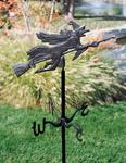 Flying Witch Garden Directions Weathervane