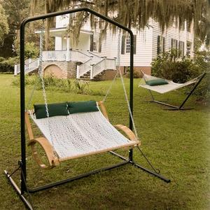 Pawleys Island Steel Swing Stand - Green