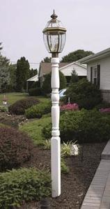 Amish Vinyl Traditional Lamp Post