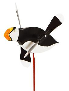 Puffin Whirly Bird Yard Wind Spinner