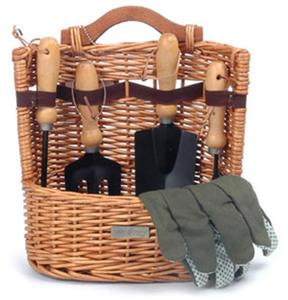 Picnic and Beyond Arbor Willow Garden Basket