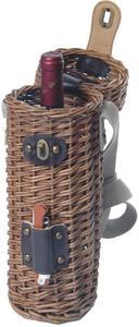 Picnic and Beyond Natural Vineyard Willow Wine Basket