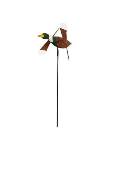 Mallard Duck Whirly Bird Garden Spinner