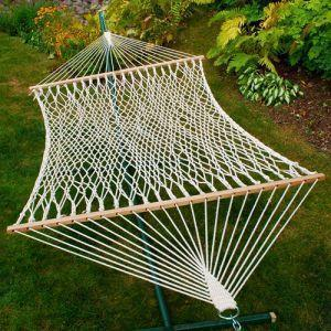 Double Cotton Two-Point Rope Hammock